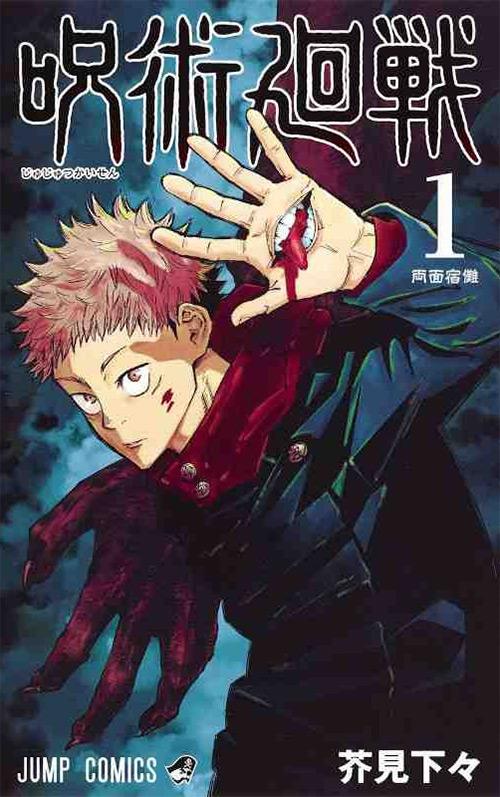 Jujutsu Kaisen Vol. 1 Manga Cover