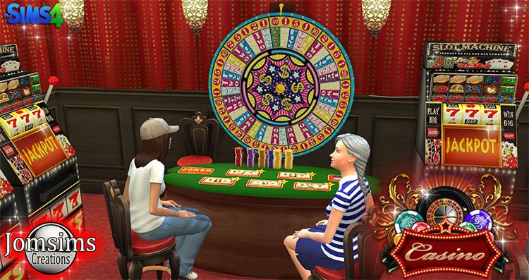 Casino Machine Décor / Sims 4 CC