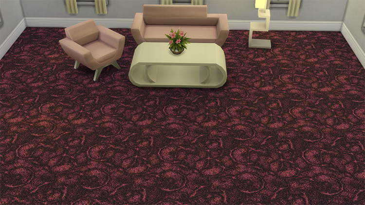 Casino-Style Carpet for The Sims 4