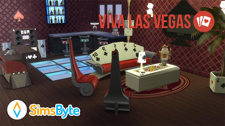 Viva Las Vegas CC Set / The Sims 4