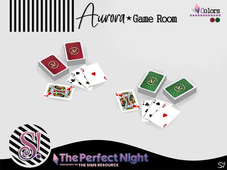 Aurora Cards / Sims 4 CC