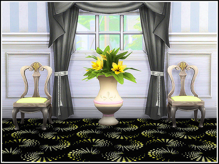 Retro Casino Wallpaper for The Sims 4
