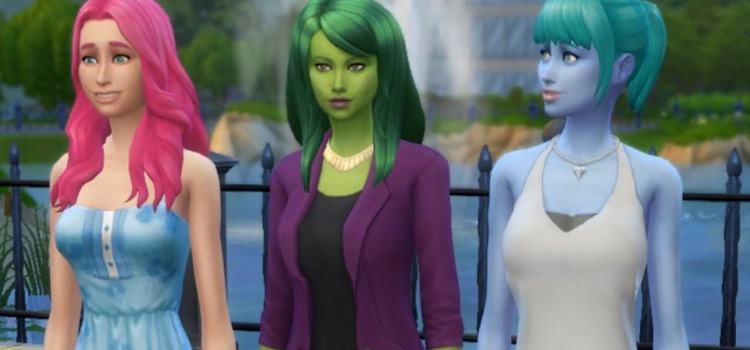 Monster Prom in The Sims 4 / Crossover Build