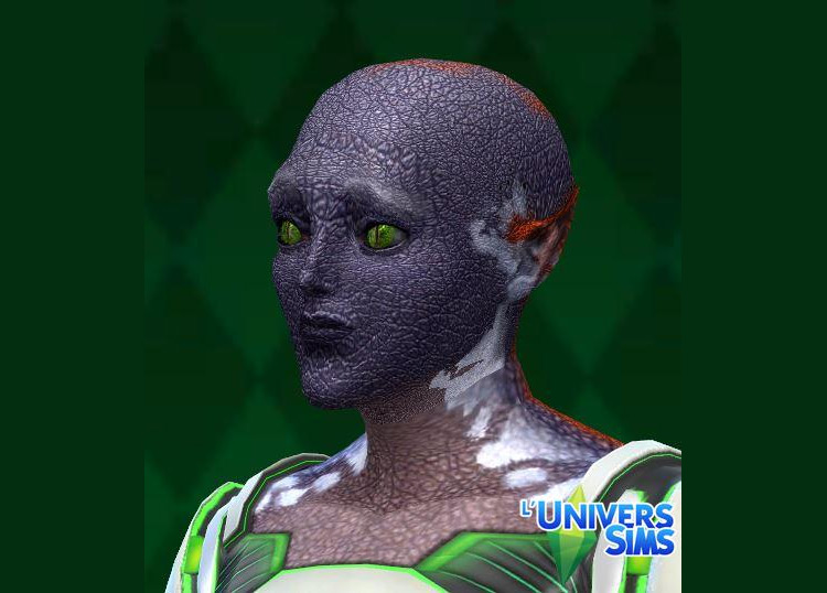 Alien Skins Pack for The Sims 4