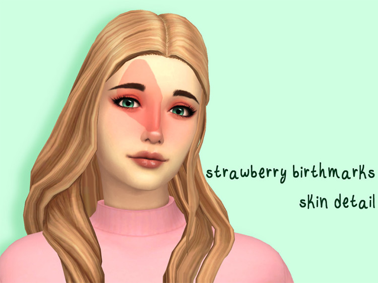 Strawberry Birthmark Skin Detail / Sims 4 CC