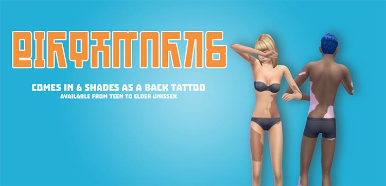 Body Birthmarks / Sims 4 CC
