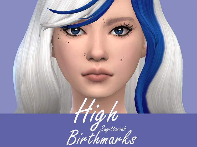 High Birthmarks Set for The Sims 4