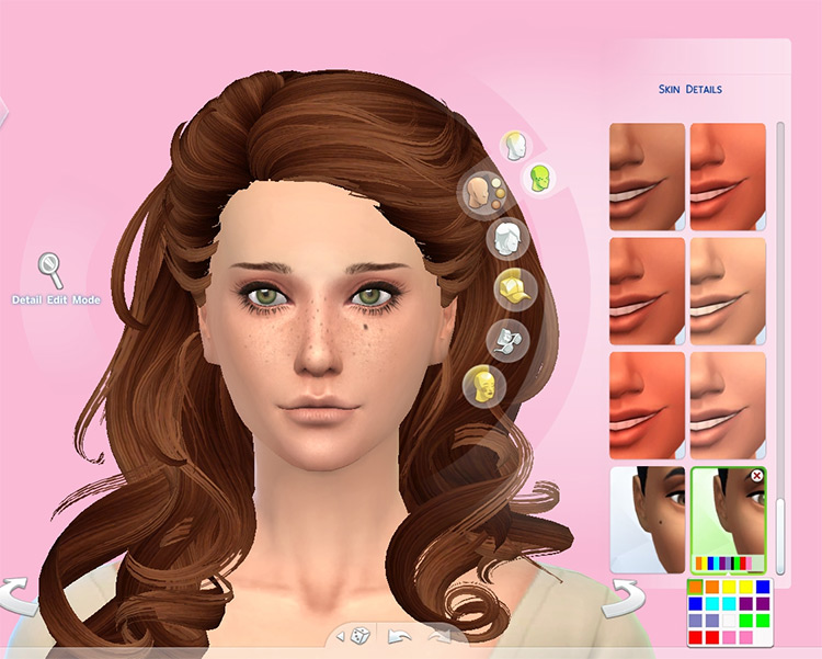 Birthmarks Pack (18 total) for The Sims 4