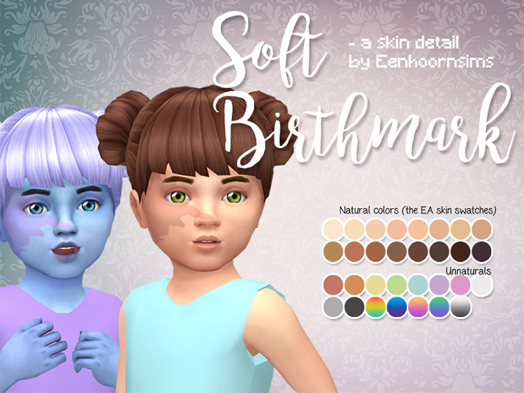 Soft Birthmarks Set for The Sims 4