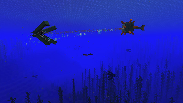Monster Of The Ocean Depths / Minecraft mod