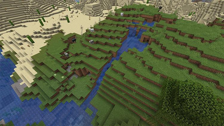 Water Erosion Minecraft mod