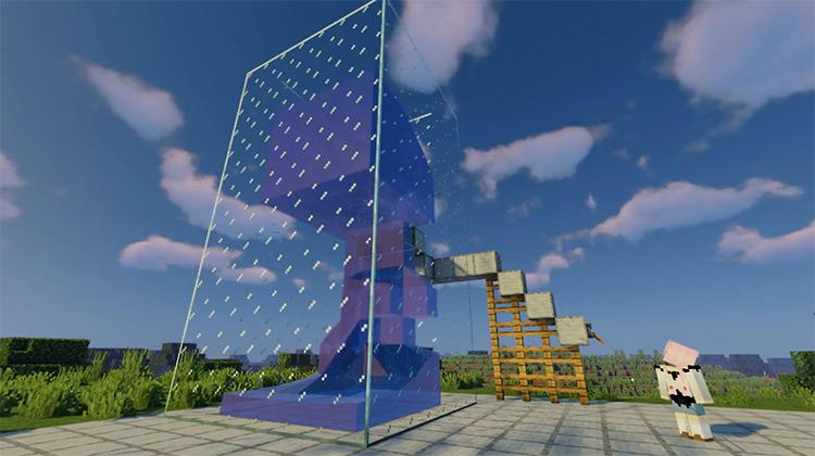 Water Physics Overhaul Minecraft mod