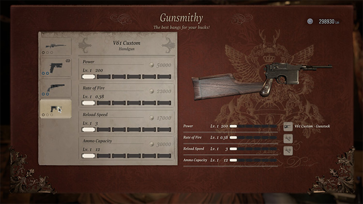 Red 9 RE Village mod screenshot