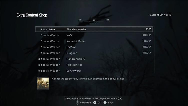 Free Extra Content Shop / RE Village mod