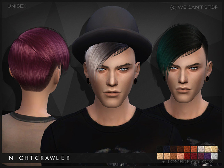 We Can't Stop Pixie Hairdo for The Sims 4