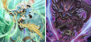 Apollousa and Unchained Abomination YGO Card Arts