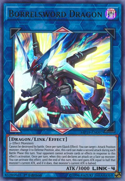 Borrelsword Dragon Yu-Gi-Oh Card