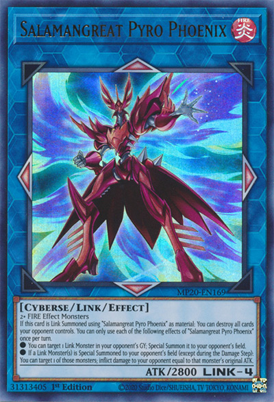 Salamangreat Pyro Phoenix Yu-Gi-Oh Card