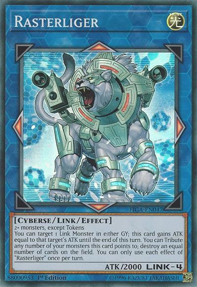Rasterliger Yu-Gi-Oh Card