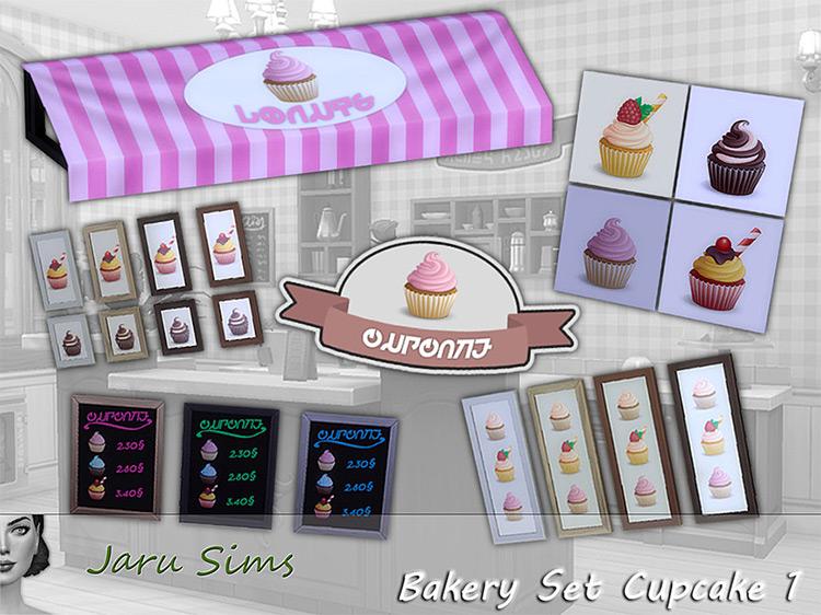 Bakery Cupcake Set / TS4 CC