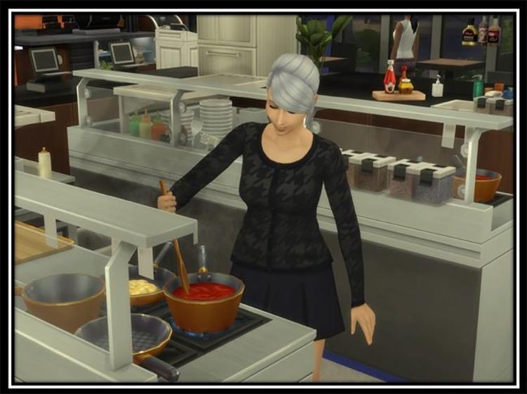 Hire Certain Sims at Restaurants Mod
