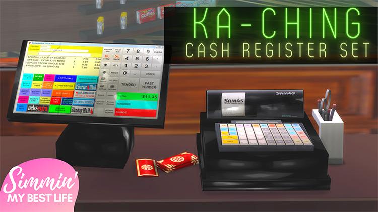 Ka-Ching Cash Register Set / TS4 CC