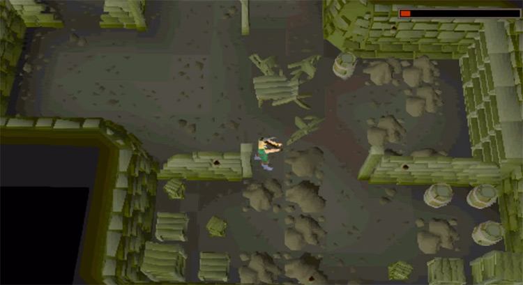 Myreque dungeon preview quest / OSRS