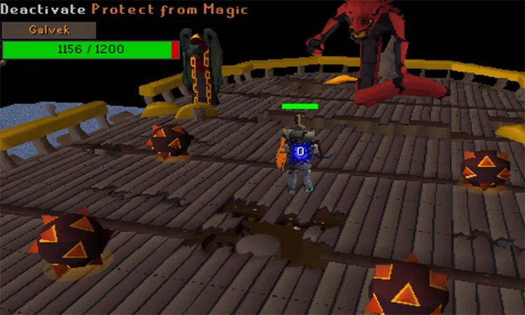 Dragon Slayer 2 battle againast Galvek / OSRS
