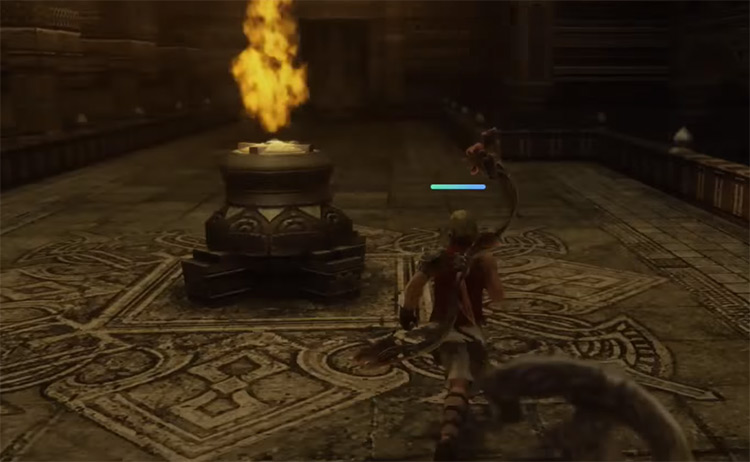Leering Blade Deathbringer Weapon Steals / FFXII TZA
