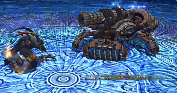 Ifrit Battle in Fiend Arena / FFX-2 HD
