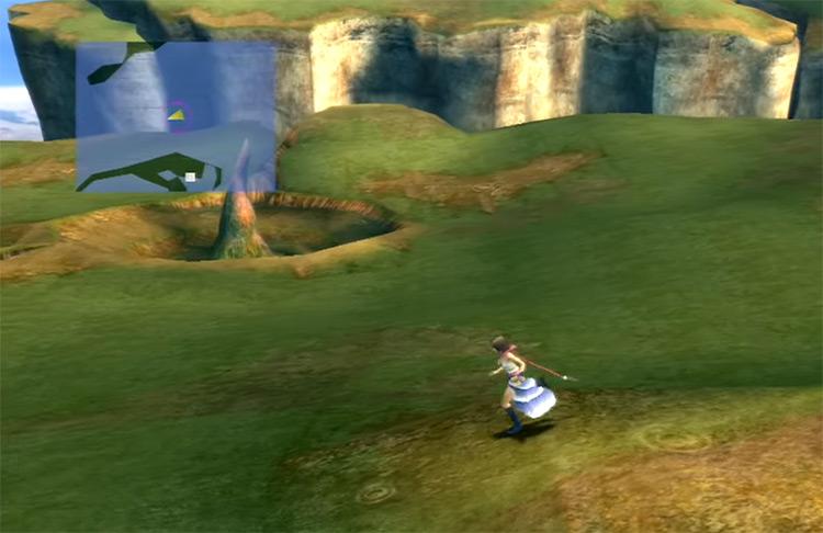 Yuna in Calm Lands in FFX-2 HD