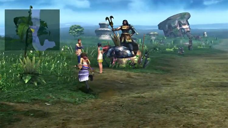 Marriage Questline Screenshot in FFX-2 HD