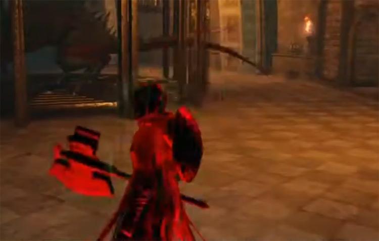 Gyrm Axe in Dark Souls 2