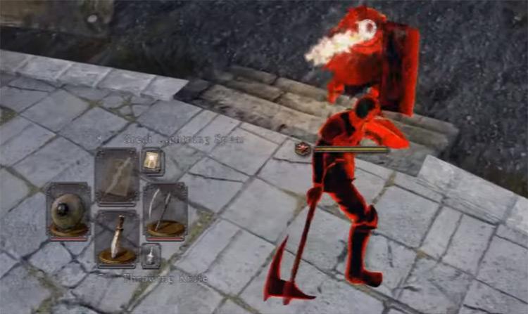 Dragonslayer's Crescent Axe in Dark Souls 2