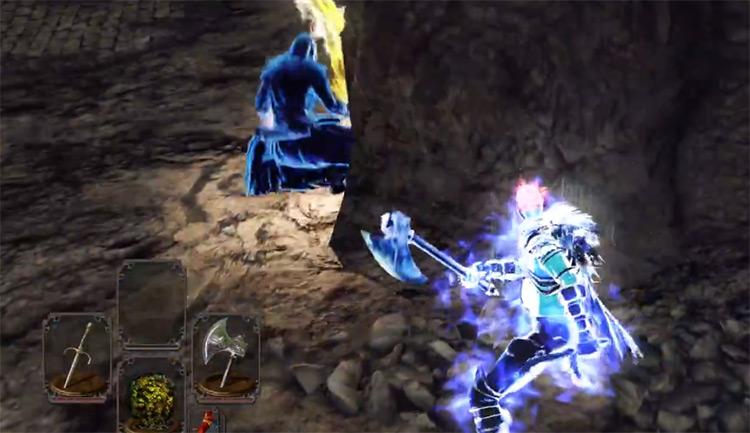 Bandit Axe in Dark Souls 2
