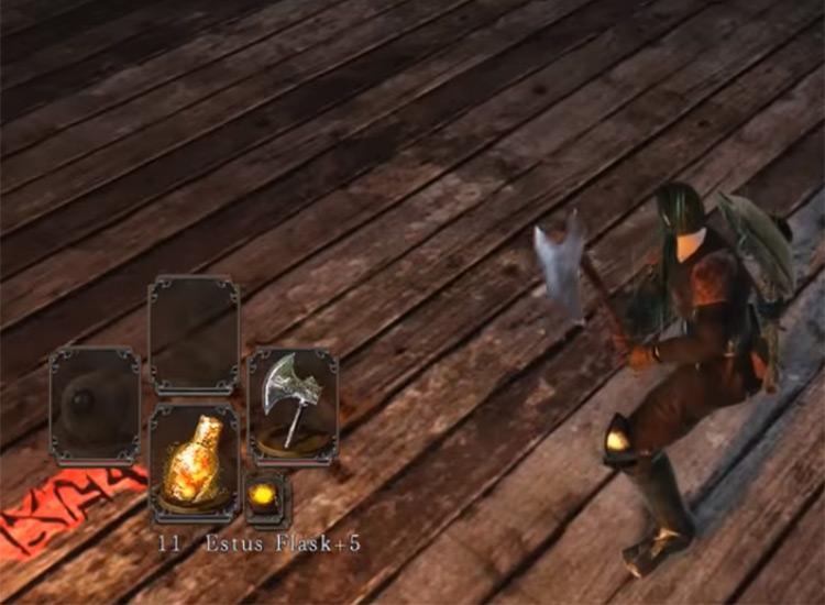 Battle Axe in Dark Souls 2