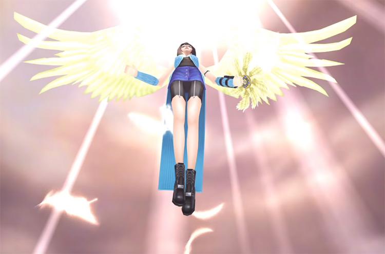 Rinoa Angel Wing Limit Break / FF8 HD