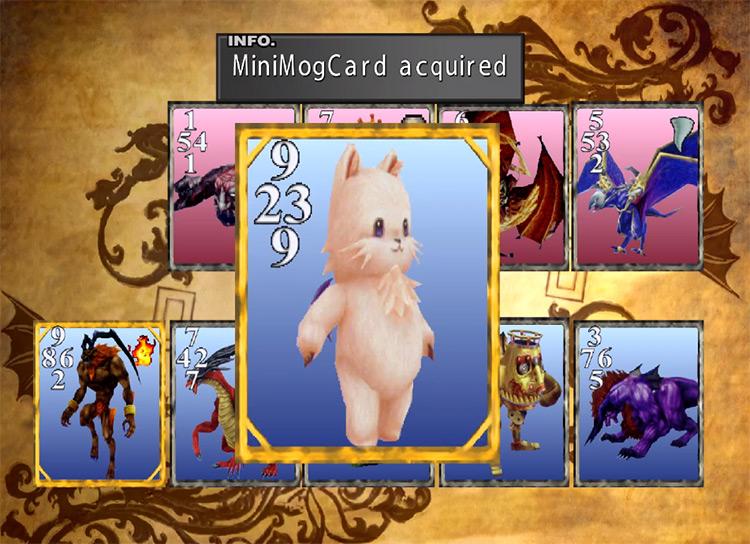 Getting Minimog Card / FF8 HD