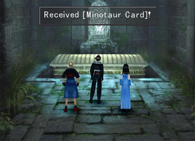 Getting Minotaur Triple Triad Card / FF8 HD