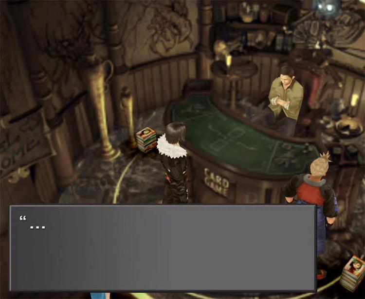 Getting Siren Card Screenshot / FF8 HD