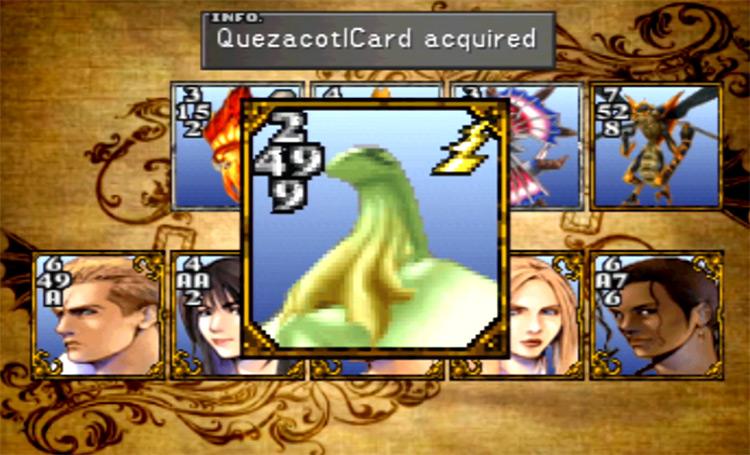 Quezacotl Card in FF8 HD