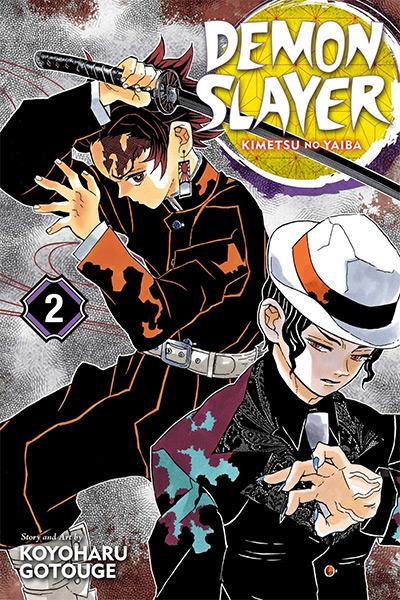 Demon Slayer: Kimetsu no Yaiba Manga Vol.2 Cover