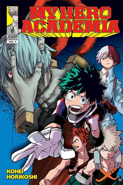 My Hero Academia Manga Vol. 3 Cover