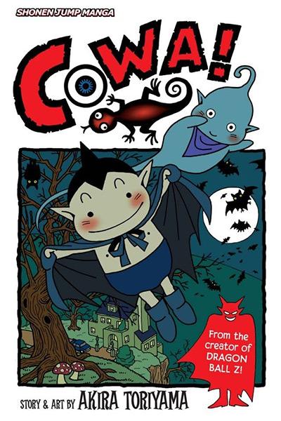 COWA! Manga Cover Preview