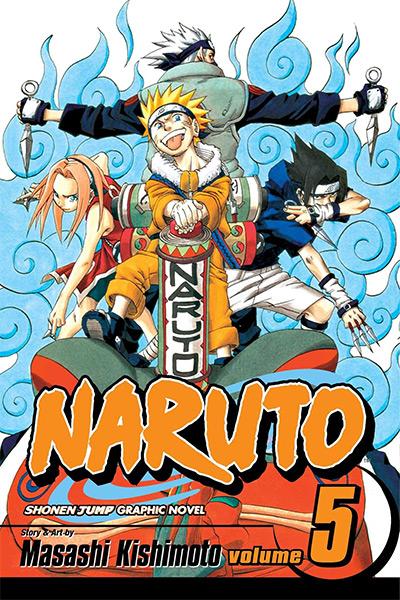Naruto Volume 5 Manga Cover
