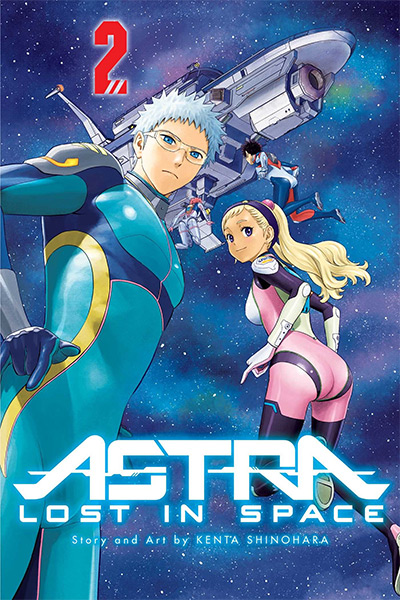 Astra Lost in Space Manga Vol. 2 Cover