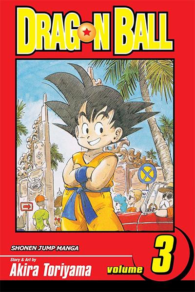 Dragon Ball Volume 3 Manga Cover