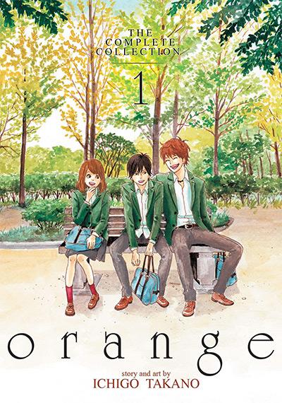 Orange Manga Vol 1 Cover