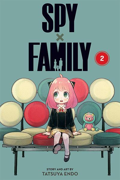 Spy X Family Manga / Volume 2 Cover
