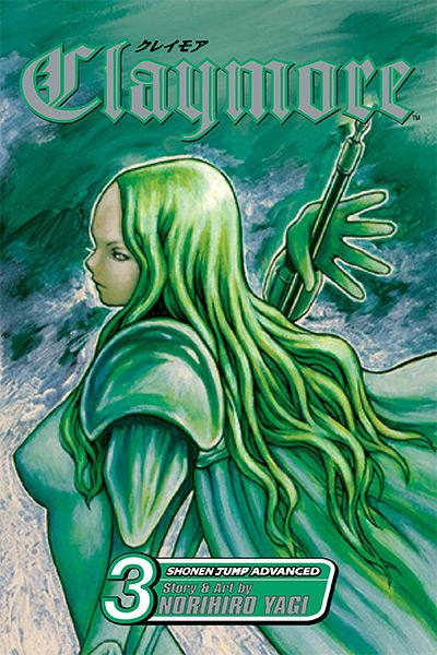 Claymore Vol 3 Manga Cover